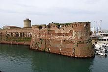 bastione matilde fortezza vecchia livorno