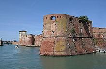 fortezza vecchia livorno bastione